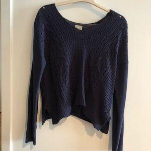 Converse Navy Sweater